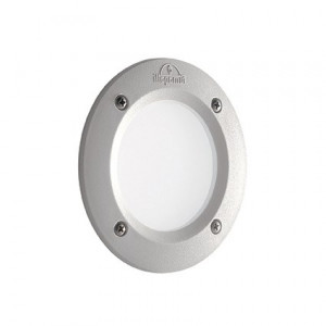 Ideal Lux - Garden - Leti Round FI1 - Lampada circolare da incasso in resina