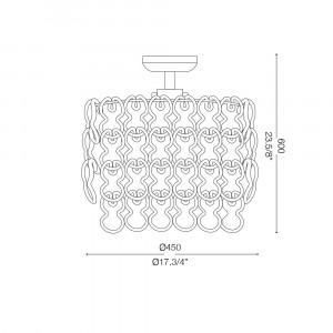 Ideal Lux - Glass - ALBA PL7 - Plafoniera
