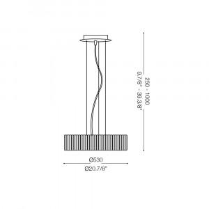 Ideal Lux - Glass - QUASAR SP10 - Lampada a sospensione