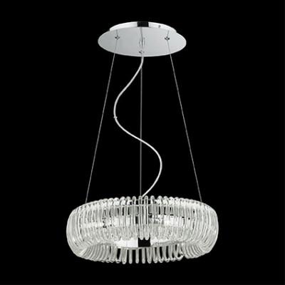 Ideal Lux - Glass - QUASAR SP6 - Lampada a sospensione - Cromo - LS-IL-059587