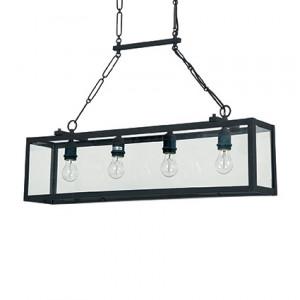 Ideal Lux - Igor - Igor SP4 - Lampadario da 4 luci con montatura in metallo