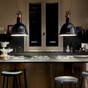 Ideal Lux - Industrial - Deda SP1 - Lampadario industrial