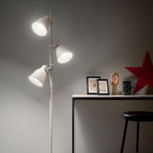 Ideal Lux - Industrial - Maurien PT3 - Piantana moderna