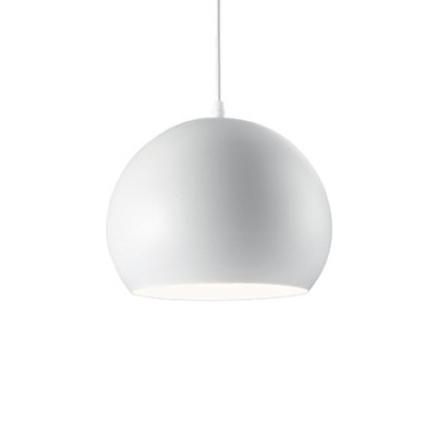 Ideal Lux - Industrial - Pandora SP1 - Lampada a sospensione in metallo - Bianco - LS-IL-005218