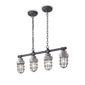 Ideal Lux - Industrial - Tnt SP4 - Lampada a sospensione