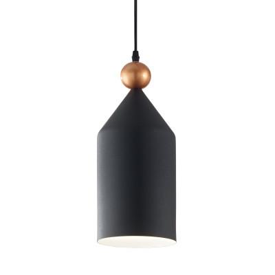Ideal Lux - Industrial - Triade-1 SP1 - Lampadario moderno - Antracite - LS-IL-194684