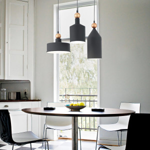 Ideal Lux - Industrial - Triade SP3  - Lampadario per cucina a tre luci