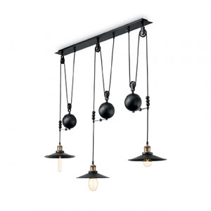 Ideal Lux - Industrial - Up And Down SP3 - Lampada a sospensione a barra