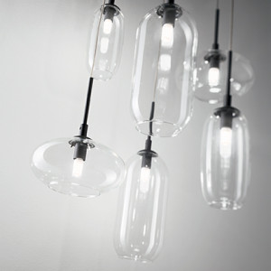 Ideal Lux - Industrial - Yoga SP6 - Lampada a sospensione