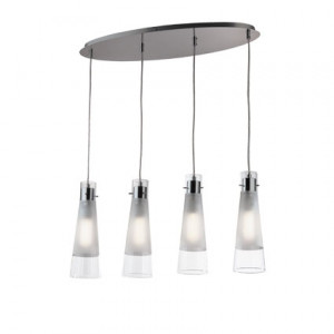 Ideal Lux - Kuky Clear - KUKY CLEAR SP4 - Lampada a sospensione