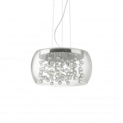 Ideal Lux - Luxury - AUDI-80 SP5 - Lampada a sospensione - Cromo - LS-IL-031743