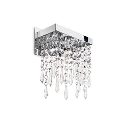 Ideal Lux - Luxury - Giada Clear AP2 - Lampada da parete - Trasparente - LS-IL-098784