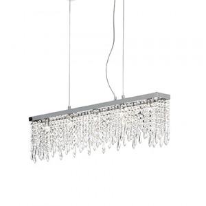 Ideal Lux - Luxury - Giada Clear SP5 - Lampada a sospensione a barra