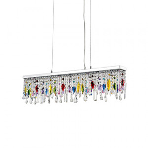 Ideal Lux - Luxury - Giada Color SP5 - Lampada a sospensione a barra