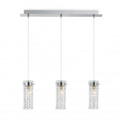 Ideal Lux - Luxury - IGUAZU' SP3 - Lampada a sospensione - Cromo - LS-IL-052366