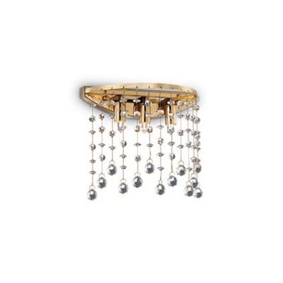 Ideal Lux - Luxury - MOONLIGHT AP3 - Applique da parete - Oro - LS-IL-082813
