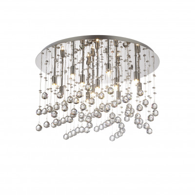 Ideal Lux - Luxury - MOONLIGHT PL12 - Lampada a soffitto - Cromo - LS-IL-077802