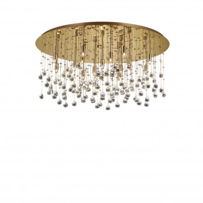 Ideal Lux - Luxury - MOONLIGHT PL15 - Lampada a soffitto - Oro - LS-IL-082790