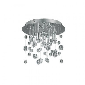 Ideal Lux - Luxury - Neve PL5 - Lampada da soffitto a 5 luci con sfere in vetro