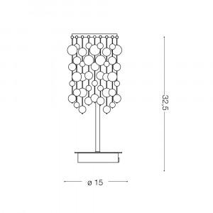 Ideal Lux - Luxury - NEVE TL1 - Lampada da tavolo