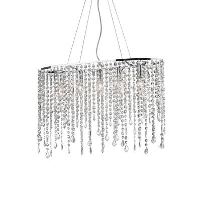 Ideal Lux - Luxury - RAIN SP5 - Lampada a sospensione - Cromo - LS-IL-008363