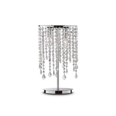 Ideal Lux - Luxury - RAIN TL2 - Lampada da tavolo - Cromo - LS-IL-008356