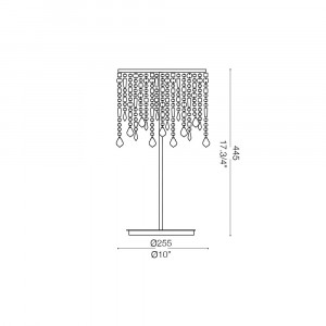Ideal Lux - Luxury - RAIN TL2 - Lampada da tavolo