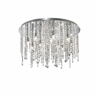Ideal Lux - Luxury - ROYAL PL12 - Lampada a soffitto - Cromo - LS-IL-053004