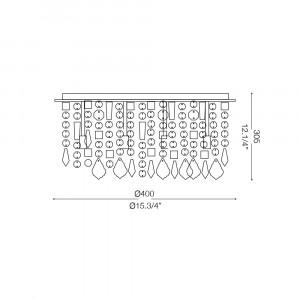 Ideal Lux - Luxury - ROYAL PL8 - Lampada da soffitto