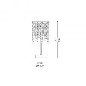 Ideal Lux - Luxury - ROYAL TL1 - Lampada da tavolo