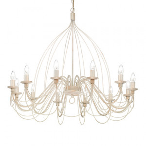 Ideal Lux - Middle Ages - Corte SP12 - Lampadario in metallo da dodici luci