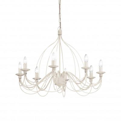 Ideal Lux - Middle Ages - CORTE SP8 - Lampada a sospensione - Bianco antico - LS-IL-005898