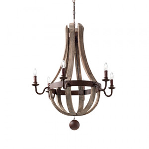 Ideal Lux - Middle Ages - Millennium SP6 - Lampada a sospensione