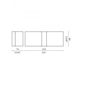 Ideal Lux - Minimal - CLIP AP2 MINI - Applique