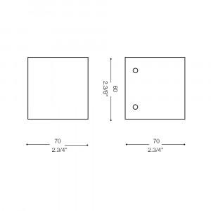 Ideal Lux - Minimal - FLASH AP1 - Applique