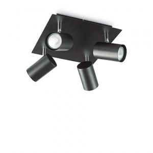 Ideal Lux - Minimal - SPot Pl4 - Lampada da soffitto