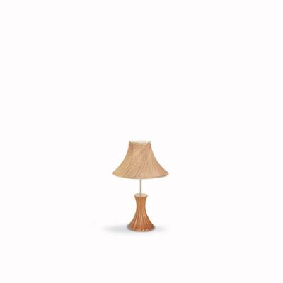 Ideal Lux - Nordico - BIVA-50 TL1 SMALL - Lampada da tavolo - Canapa - LS-IL-017716