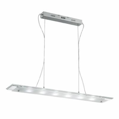 Ideal Lux - Office - OFFICE-1 SP6 - Lampada a sospensione - Cromo - LS-IL-007465