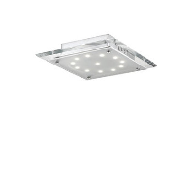 Ideal Lux - Office - PACIFIC PL12 - Plafoniera - Trasparente - LS-IL-074214