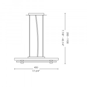 Ideal Lux - Office - PACIFIC SP24 - Lampada a sospensione