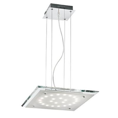 Ideal Lux - Office - PACIFIC SP24 - Lampada a sospensione - Trasparente - LS-IL-079851