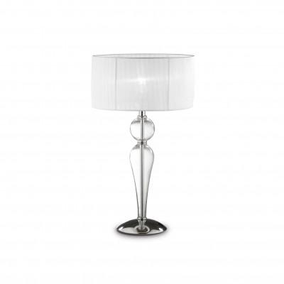 Ideal Lux - Organza - DUCHESSA TL1 BIG - Lampada da comodino - Trasparente - LS-IL-044491