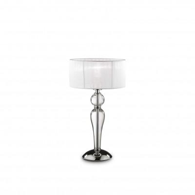 Ideal Lux - Organza - DUCHESSA TL1 SMALL - Lampada da comodino - Trasparente - LS-IL-051406