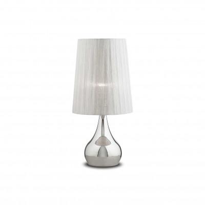 Ideal Lux - Organza - ETERNITY TL1 BIG - Lampada da tavolo - Argento - LS-IL-036007