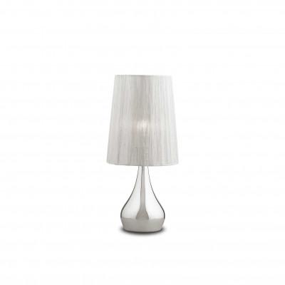 Ideal Lux - Organza - ETERNITY TL1 SMALL - Lampada da tavolo - Argento - LS-IL-035987