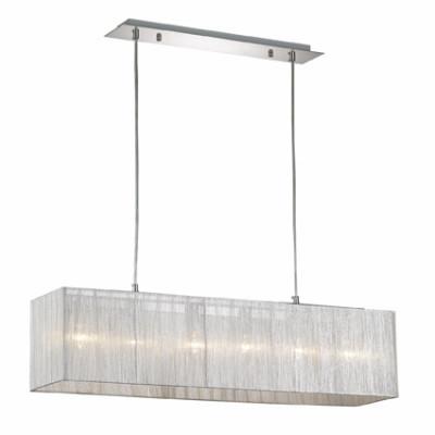 Ideal Lux - Organza - MISSOURI SB6 - Lampada a sospensione - Argento - LS-IL-035925