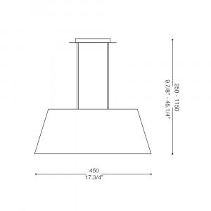 Ideal Lux - Organza - MISSOURI SP4 - Lampada a sospensione