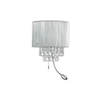Ideal Lux - Organza - OPERA AP3 - Applique - Argento - LS-IL-122588