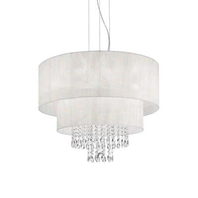 Ideal Lux - Organza - OPERA SP6 - Lampada a sospensione - Bianco - LS-IL-068299