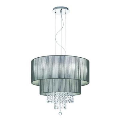 Ideal Lux - Organza - OPERA SP6 - Lampada a sospensione - Nero - LS-IL-103327